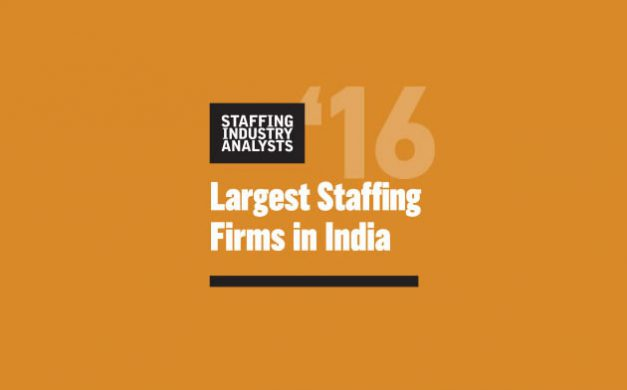 Gi Group leads Largest Indian Staffing Firms' List by SIA
