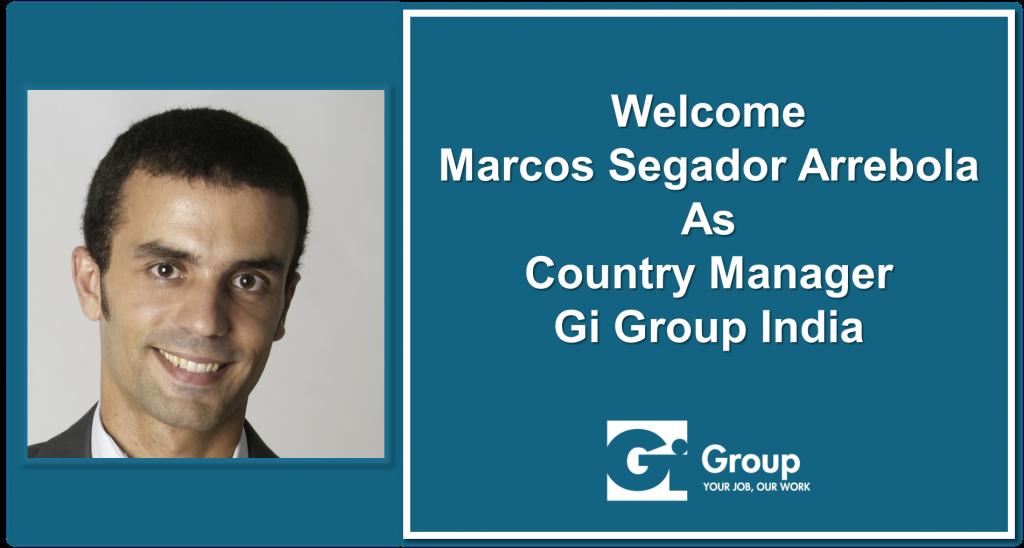 Marcos Segador joins Gi Group India
